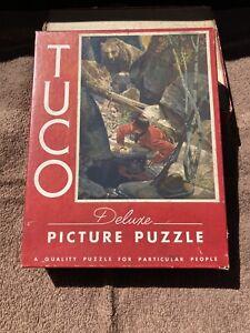 Vintage Tuco Puzzle, 16x20 & 300-500 Pieces, Complete