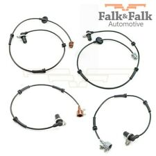 4x Falk&falk ABS Sensors Nissan x-Trail Front Rear Right Left up To - 09.03
