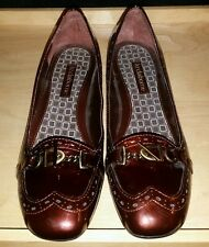 Liz Claiborne loafers shoes low heels red ombre Kady 7M