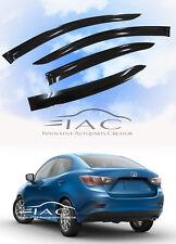 For Toyota Yaris iA Scion iA 16- Window Visor Vent Shade Rain Guard Door Visor