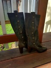 Women's brown leather boots by Frye size 6M