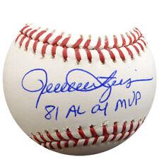 "Rollie Fingers Autographed Signed Mlb Baseball A'S ""81 Al Cy Mvp"" Psa/Dna 83618"