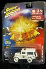 WHITE LIGHTNING CHASE 1980 TOYOTA LAND CRUISER 1/64 JOHNNY JLCP7165 MIJO Police