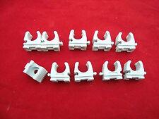 10x Fischer Rohrclip 12/13mm  Rohrschelle Kunststoff für Ölleitung 12/13mm