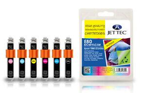Jet Tec E80 Remanufactured Epson Ink Cartridges