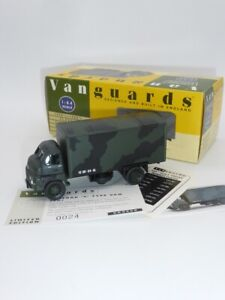 Vanguards VA8008 Limited Edition Army Bedford S Type Boxback 1:64 Scale