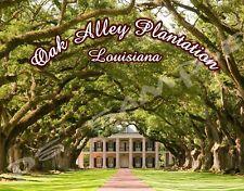 Louisiana - OAK ALLEY PLANTATION Travel Souvenir Magnet