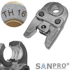 TH16 Profi Pressbacke Presszange Pressbacken Presszangen TH 16 - für Verbundrohr