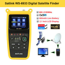 Satlink WS-6933 FTA DVB-S2 Digital Satellite SAT Finder 950-2150MHz professional