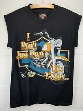 Vintage Harley Davidson T-shirt Small VTG 90s I Don't Just Own This Shirt Ohio
