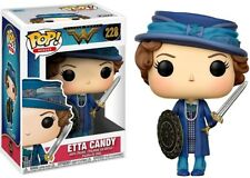 New Funko Pop! DC Heroes Wonder Woman #228 Etta Candy with Sword and Shield