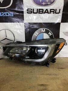 2017 2018 Subaru Legacy Left Side Headlight Used Oem