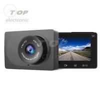 """Hot Xiaomi Yi 2.7"""" LCD HD 1080P WIFI Car Dash Camera DVR Recorder Black"""