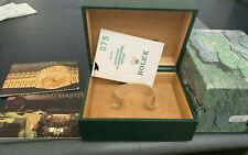 Box Paper Certificate Warranty Garanzia Rolex Gmt 16710