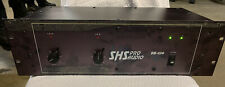 Shs Pro Audio Dh-480 Power Amplifier, Made In The Usa