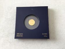 1 pièce or gold de 100 euros France 2015 Le Coq
