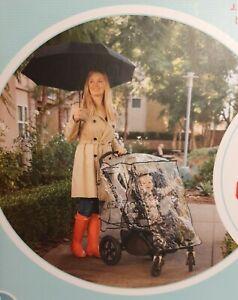 Universal Baby Stroller Clear Plastic Weather Shield J.L. Childress NIB