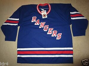 New York Rangers CCM Maska Air Knit Hockey NHL Jersey XL NEW Deadstock