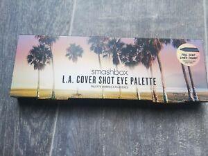 Smashbox BNIB LA Cover Shot Eyeshadow Palette with full size gel eyeliner