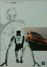 Peugeot 206 Sports range Sales Brochure - May 2003 includes GTi & GTi 180