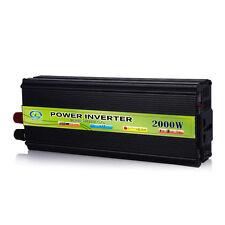 2000W Car Vehicle USB DC 24V to AC 220V Power Inverter Adapter Car Converter