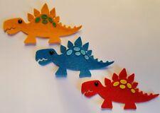 x3 Felt Dinosaur Embellishments. Die cuts