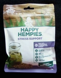 Happy Hempies Dog Treats Stress Support 30ct. Hyped Up Dog?  THESE WORK GREAT