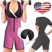 Neoprene Slimming Vest with Sleeves Exercise Workout Waist Trainer Corset Shaper