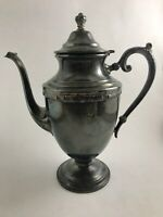Vintage Rogers Bros Silver Plate Tea Pot Coffee Pot