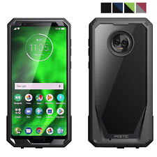 For Motorola Moto G6 Case [Scratch Resistant Back] Shockproof Cover