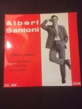 Vinyle 45t - ALBERT SANTONI  - CHIFFON PAPIER -BAM - dédicacé   vi91