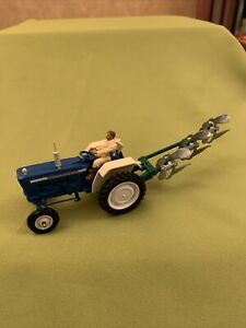 Britains Farm Ford 5000 Vintage Model With Plough