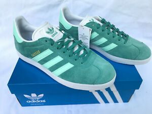 Adidas Gazelle BD7497 True Green Suede SB Mint Futbol Sneakers Shoes Men's 9 new
