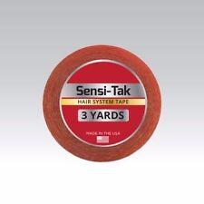 "Walker Sensi-Tak Tape (Red Tape) 3/4"" X 3 Yard Roll for Poly Units Wigs Toupee"