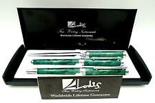 Lodis Ballpoint Pen Executive Writing Instruments Emerald Set
