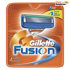 Neu Gillette Fusion Rasierklingen Original 4er Pack - Kostenlose Lieferung