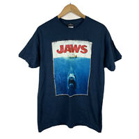 Jaws Universal Studios T Shirt Size Large Graphic Tee Short Sleeve Good Conditio