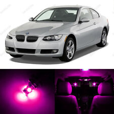 14 x Pink/Purple LED Interior Light Package For 2006 -2011 BMW 3 Series M3