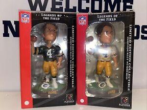 Green Bay Packers Brett Favre Bobblehead Lot Legends Of The Field FREE SHIPPING