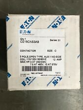Eaton,CE15CNS3AB, CONTACTOR,  NEW IN BOX MATERIAL