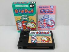 MSX DIG DUG Namcot Japan Boxed Game 3176 msx