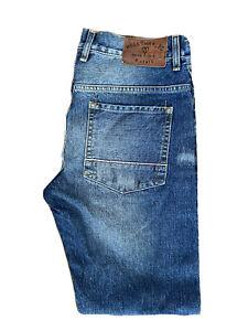 Original Holloway Rd Reg Fit Straight Leg Indigo Selvedge Jeans W32 L31 ES 8236