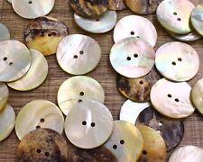 "Japan 30pcs 40L 1"" 25mm Large Real Pearl Shell Button Jacket Coat Knopf Agoya"