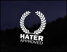 Hater Approved JDM Funny Car Decal Euro Drift VAG VW DUB Vinyl Sticker Japan