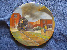 "Ted Xaras Plate ""Furniture for the Nation"" CNR Train Steam Autographed Signed"
