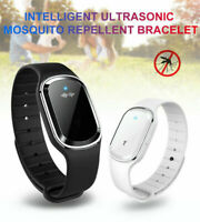 Ultrasonic Anti Mosquito Insect Pest Bugs Repellent Repeller Wrist Bracelet New