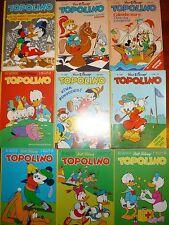 TOPOLINO-MONDADORI-DAL N°1544 A 3032-BUONI-PREZZO EUR 1,00 CD. MINIMO 5 FUMETTI.
