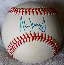 Chicago White Sox Alex Fernandez Signed Rawlings American League Baseball Auto