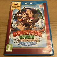 Donkey Kong Country Tropical Freeze - Nintendo Wii U Selects Game UK PAL Boxed