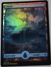 Foil Island/île-Battle Zendikar-Anglais (N-Comme neuf +) # 259 * Full Art *